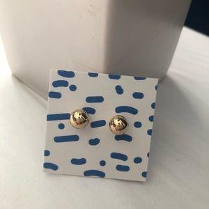 Jewelry - 24K Gold Stud Earrings